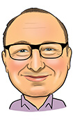 MARK LANGTREE CERT CII Caricature
