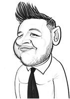 ROB WARDLE CERT CII Caricature